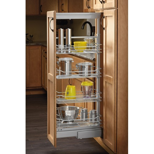 Rev-A-Shelf 5773-04 CR - 4in Soft-Close Pullout Pantry