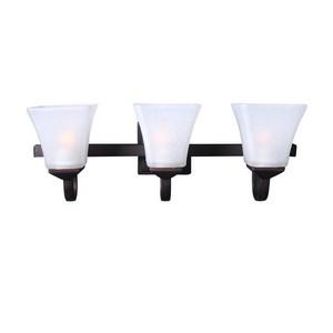 Design House 577445 Torino 3LT Vanity Light Brushed Bronze