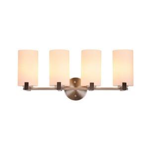 Design House 577536 Eastport 4LT Vanity Light Satin Nickel