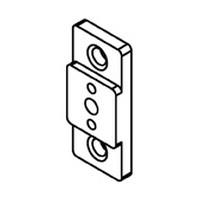 Bainbridge 3606AL-22, 1/4 Drawer Slide Spacer, Almond