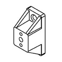 Bainbridge 3607WH-22, 7/8 Drawer Slide Spacer, White