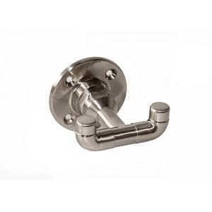 Design House 580647 Kimball Dbl Robe Hook Satin Nickel
