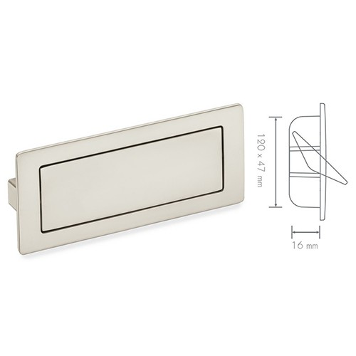 Schwinn 59009 Architectural Covered Flush Pull Recessed