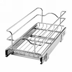 Rev-A-Shelf 5WB1-0918-CR - 9in Single Wire Basket, 18in Depth