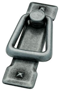 Liberty Hardware 62077AP, Bail Pull, Centers 2-1/4 (2-1/4), Pewter Antique