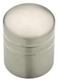 Liberty Hardware 63225NA, Knob, 1in dia., Stainless Steel, Palladium