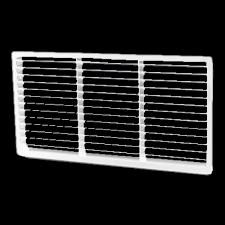 Hardware Concepts 6439-010, Rectangle Metal 1-Piece, Ventilation Grommet, Bore Hole: 12 L x 6 W, White