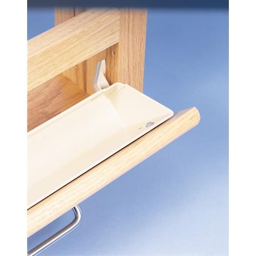 Rev-A-Shelf 6562-14-15-52 - 14in Tab Stop Sink Front Trays, Almond
