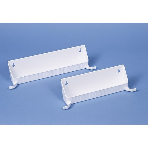 Rev A Shelf 6562 14 11 52 14in Tab Stop Sink Front Trays, White