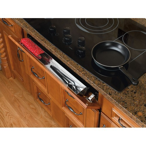 Rev-A-Shelf 6581-19-52 - 19in Stainless Sink Front Tray