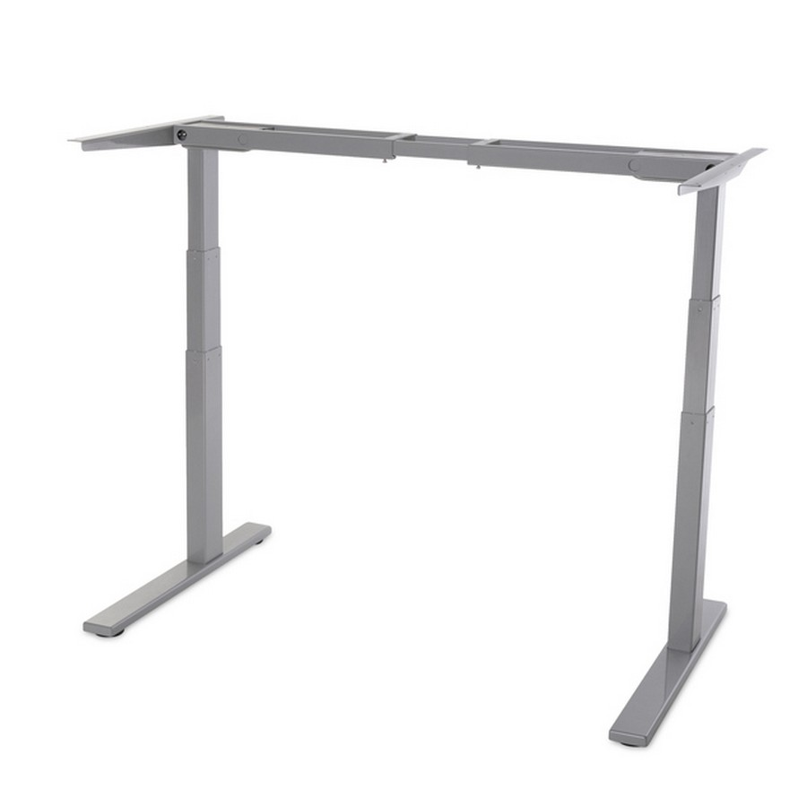 "Electric Table Lift 2 Legs/3 Sections 22-13/16"" - 48-5/8"" H Gray WE Preferred  SH-LTM-2L-27.5-GA/2M"