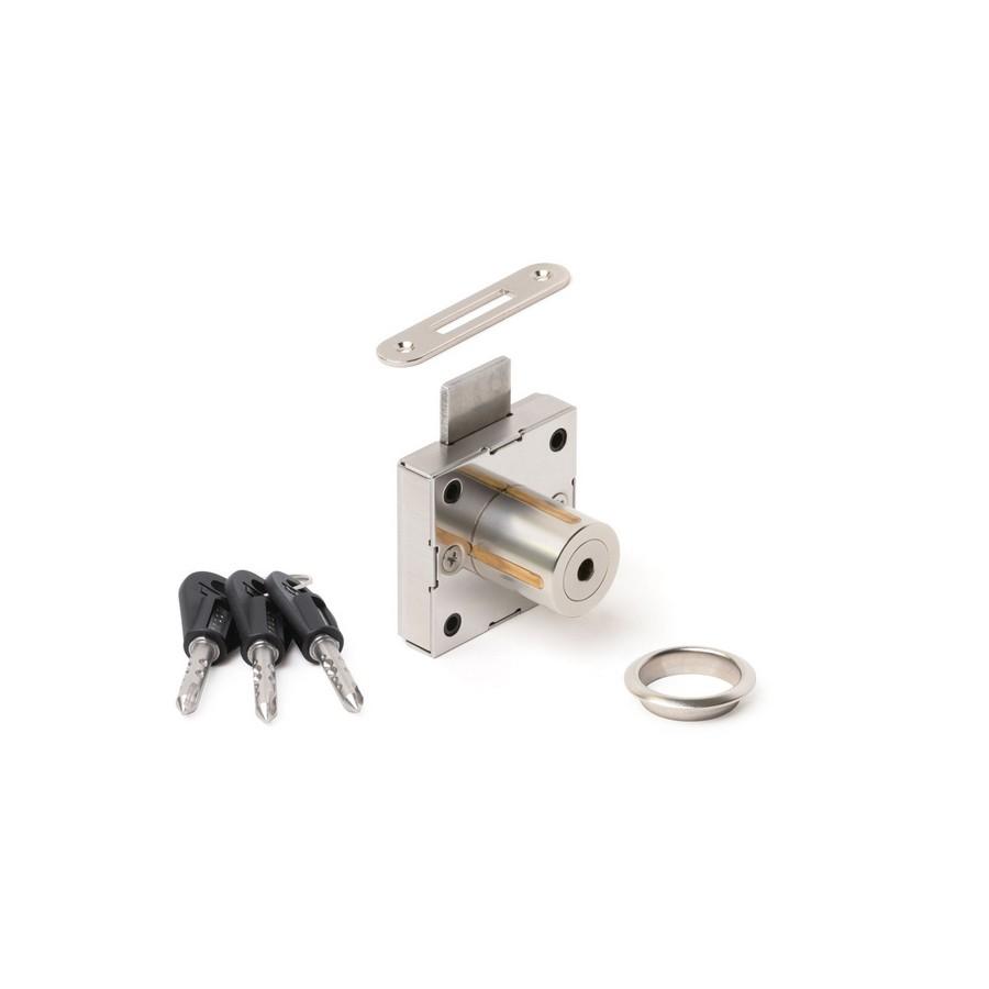 High Security Cabinet Lock with Stem Key KA Sugatsune 7110-24-DN-711001
