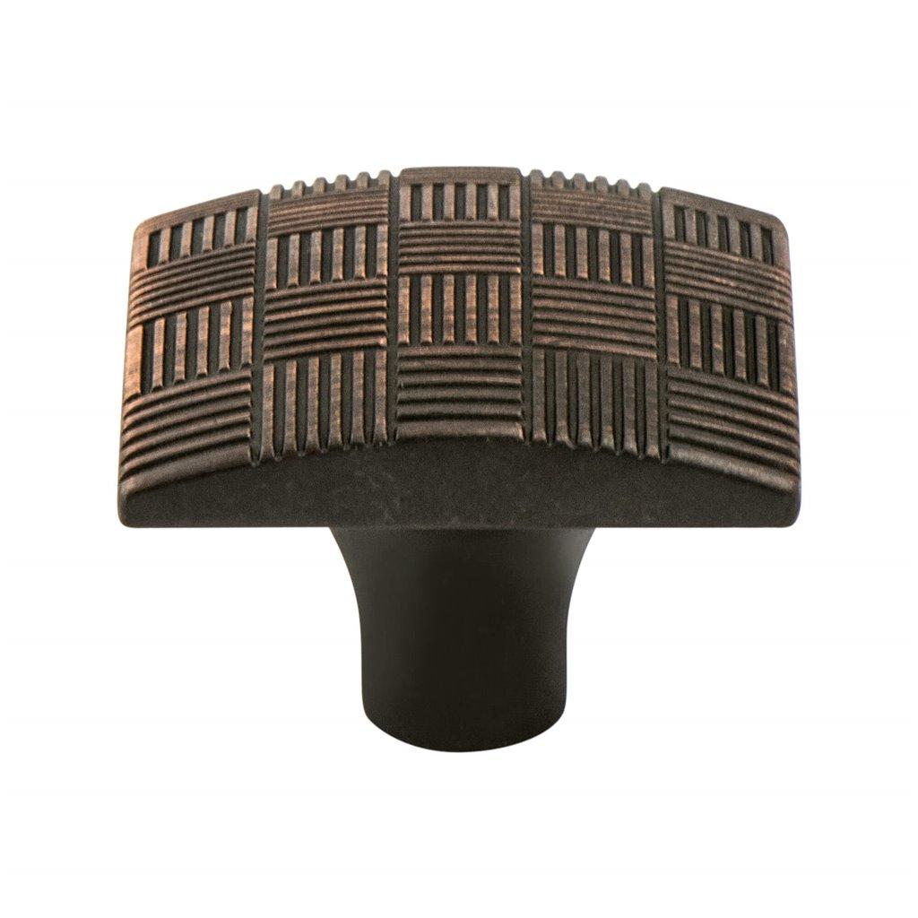 "Virtuoso Knob 1-1/8"" Long Verona Bronze Berenson 7142-10VB-P"