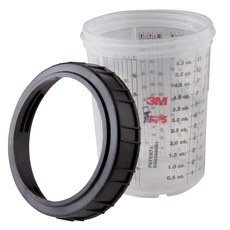 PPS Cups/Collars, Standard 22oz, Box/2 Cups & Collars Version 1.0 (Legacy) 3M 16001