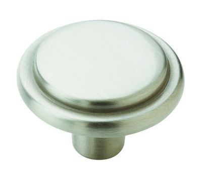 Amerock BP76294-G10, Allison Value Hardware 1-3/16 Knob Satin Nickel, Allison Collection