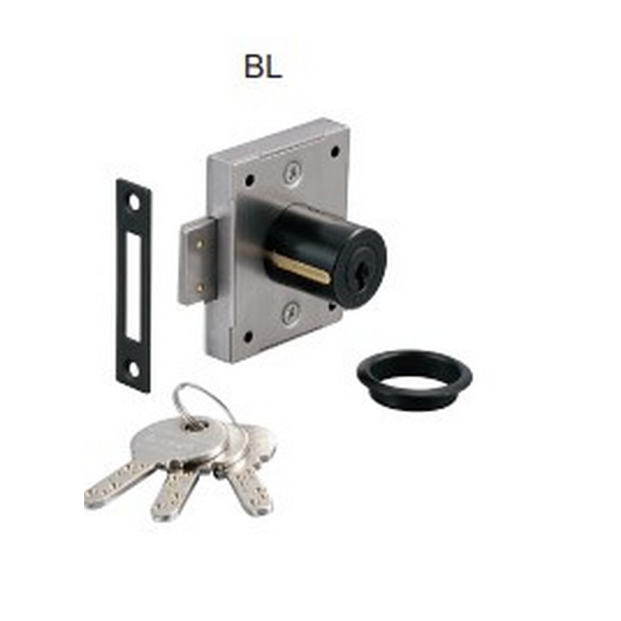 "7810 Cabinet Door Lock 1-3/16"" Long Black KA/KD Sugatsune 7810-30BL-G1001"