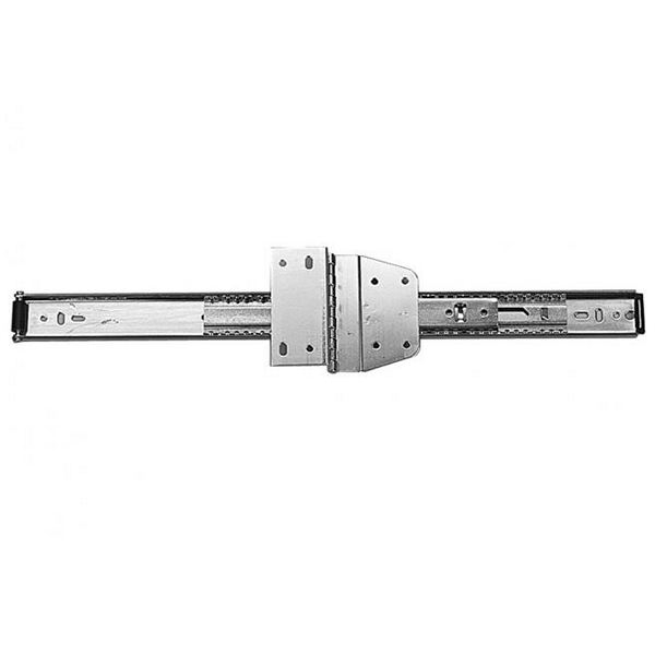 "8040 Overhead Flipper Door Slides 22"" Long Zinc KV 8040BEZ 22 Bulk-10 Sets"