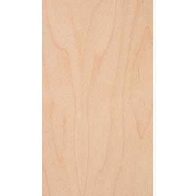 Edgemate 8101297, 4ft X 8ft Real Wood Veneer Sheet, 2-Ply Backing, Maple