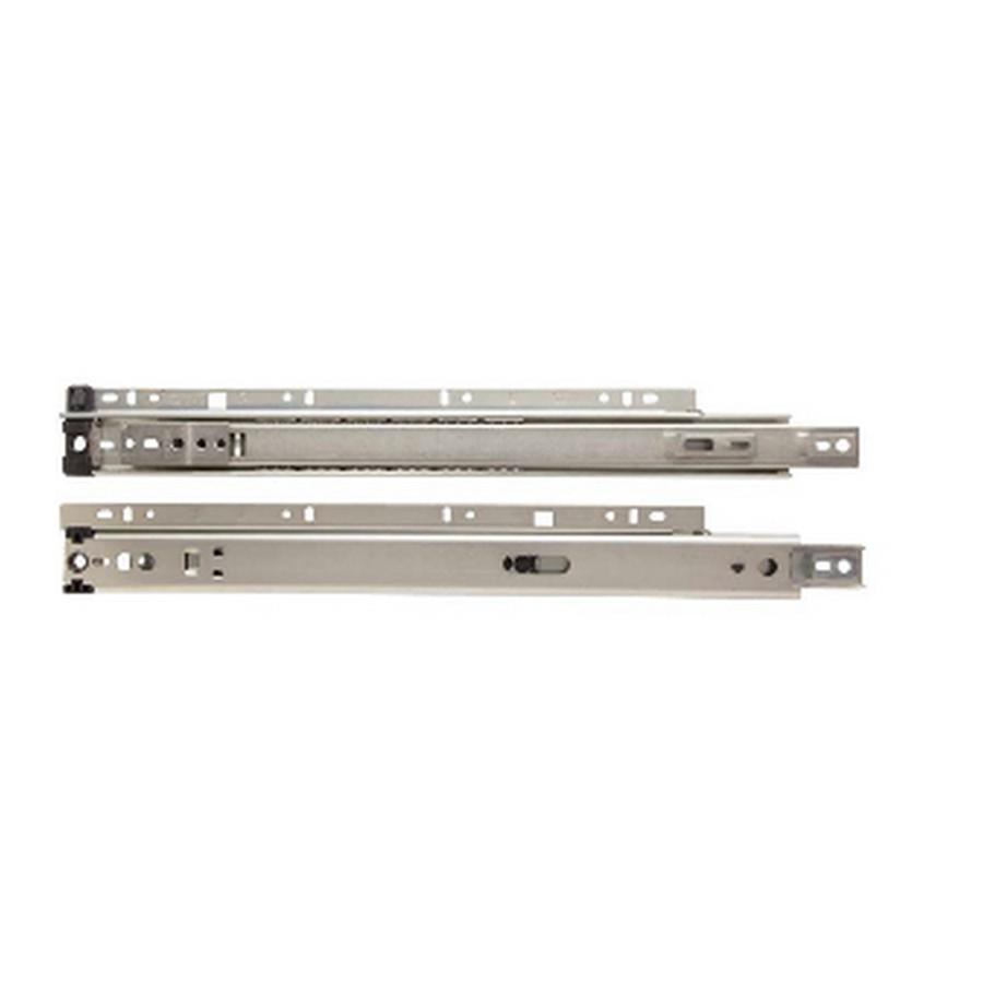 """KV 8300 12"""" Side Mount 3/4 Extension Drawer Slide Anochrome Polybag Knape and Vogt 8300P 12"""