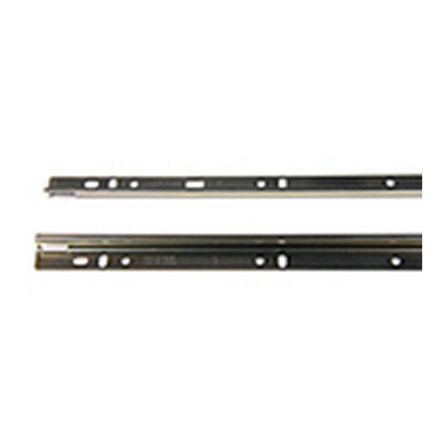 """KV 8500 Unhanded Mounting Rail for 24"""" 8300/8500/8505 Drawer Slides Anochrome Bulk-20 Rails Knape and Vogt 8500-92 24"""