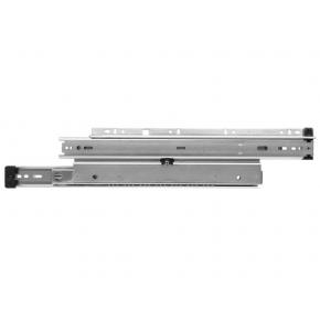 KV 8500B EB 26 Bulk-5 Sets, 26in 150lb Side Mount Full Ext Ball Bearing Drawer Slide, Black, Knape and Vogt