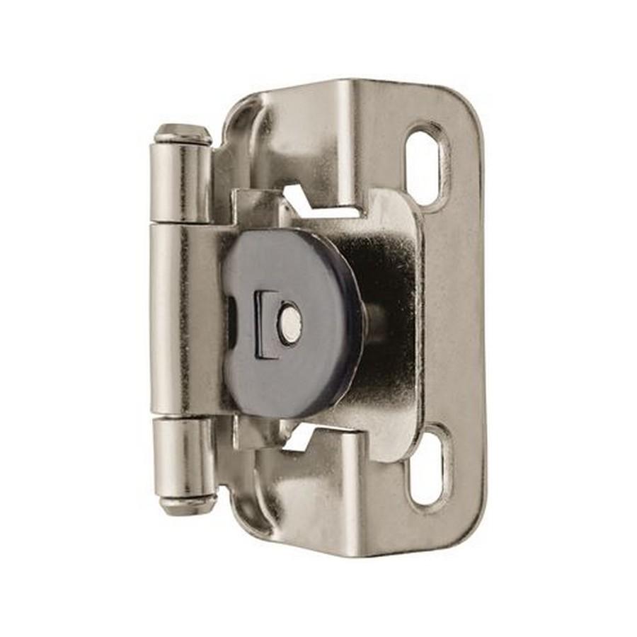 "1/2"" Overlay Single Demountable Self-Closing Hinge Nickel Amerock AMCM8719-14"