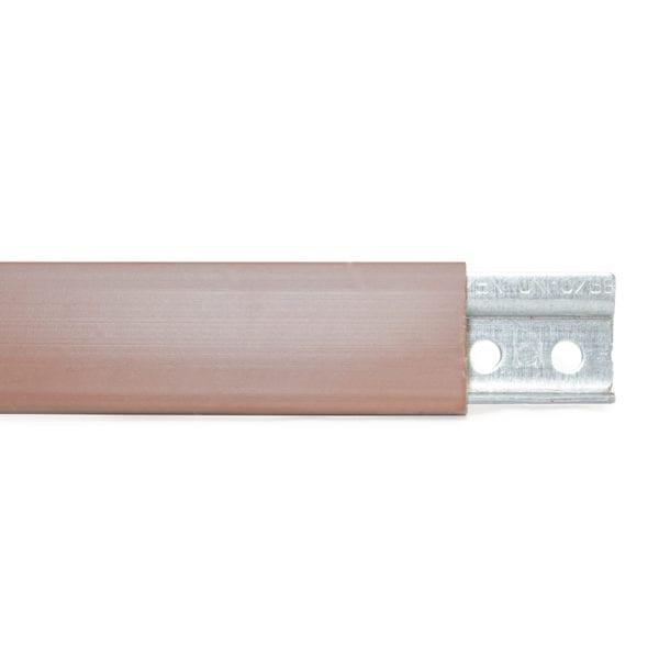 Hanging Rail Cover Cap For CM875-Z1-24 Brown Peter Meier 883-04-24