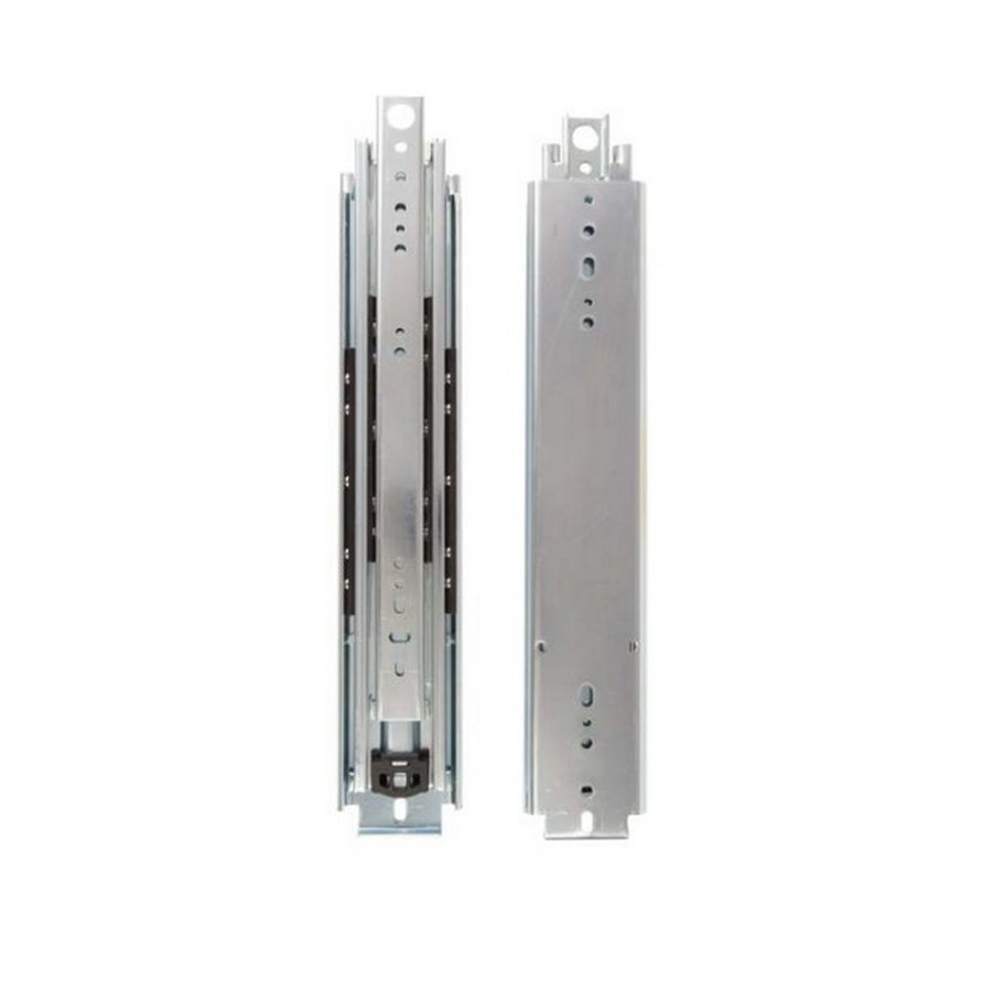 """KV 8900 10"""" Side Mount Full Extension Slide Zinc Bulk-4 Pair Knape and Vogt 8900B 10"""
