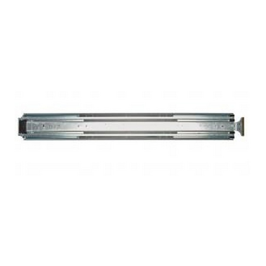 "KV 8908 20"" Side Mount Full Extension Lock-in/Lock-Out Drawer Slide Zinc EACH Knape and Vogt 8908B 20"