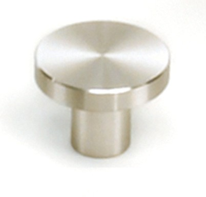 "Melrose Knob 1-1/4"" Dia Stainless Steel Laurey 89401"