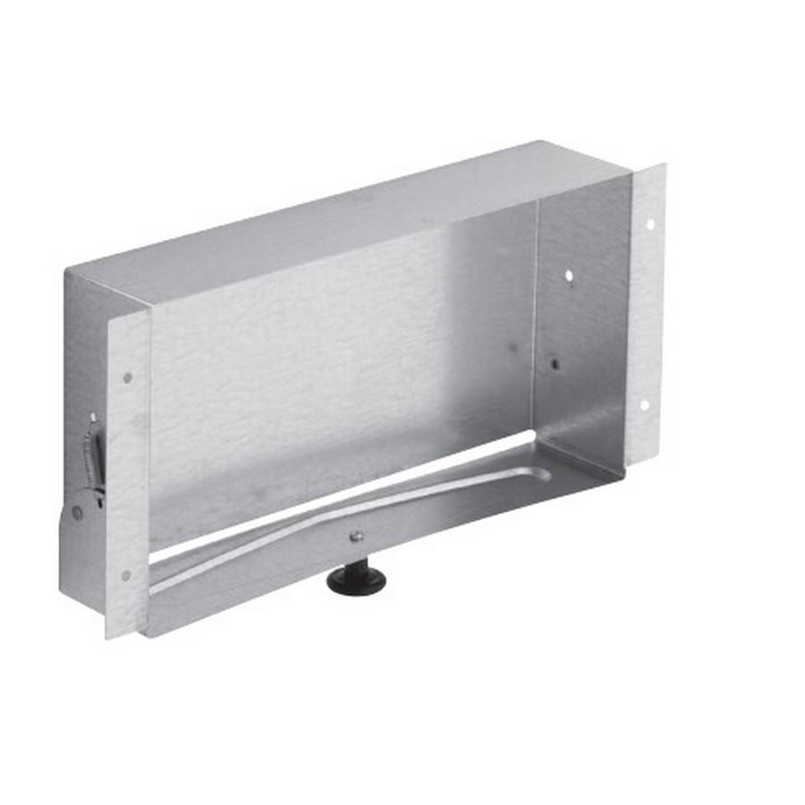 Recessed Vanity Tissue Cabinet Galvanized Steel Liberty 919