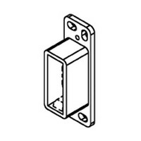 Bainbridge 604-22, 1/2 H x 7/16 W x 1-13/16 D Rear Socket for Epoxy Drawer Slides