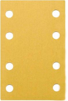 "Dynabrade 93895 Sandpaper Sheets, 3-1/4"" X 5"" 150 Grit, 8 Hole"
