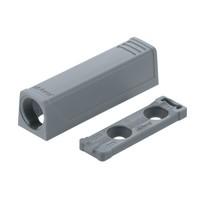 Blum 956.1201 Hinge TIP-ON In-Line Adapter Plate for Standard Doors, Nickel