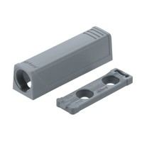 Blum 956.1201 Hinge TIP-ON In-Line Adapter Plate for Standard Doors, Black