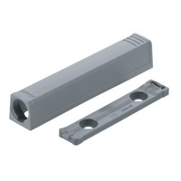 Blum 956A1201 Hinge TIP-ON In-Line Adapter Plate for Large Doors, Black