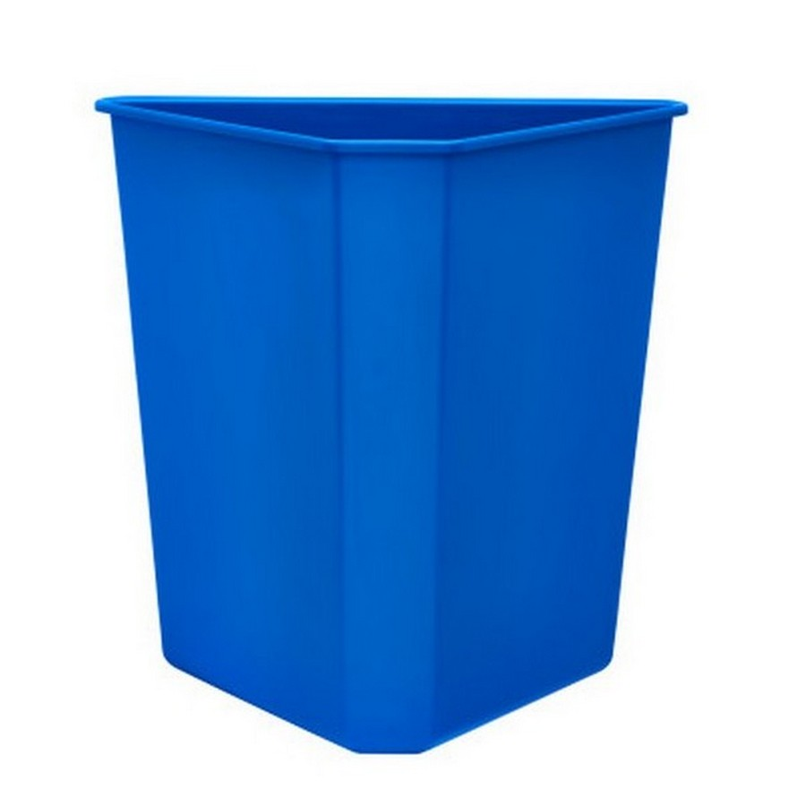 Blue Replacement Container for 5BBSC Series Recycling Center Rev-A-Shelf 9700-60B-52
