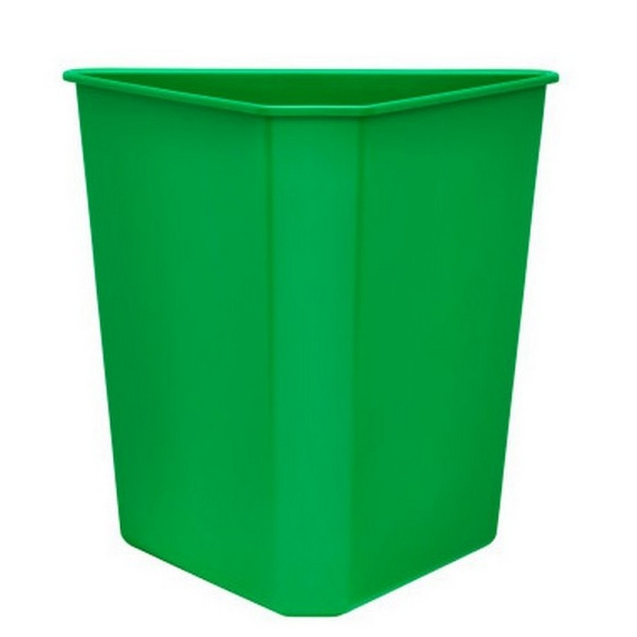 Green Replacement Container for 5BBSC Series Recycling Center Rev-A-Shelf 9700-60G-52