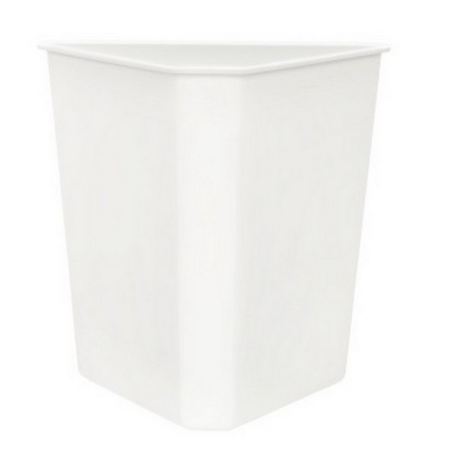 White Replacement Container for 5BBSC Series Recycling Center Rev-A-Shelf 9700-60W-52