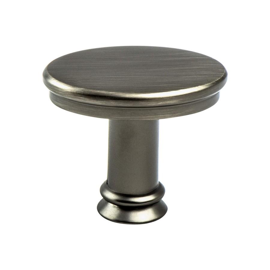"""Dierdra Knob 1-7/16"""" Long Vintage Nickel Berenson 9809-1VTN-P"""