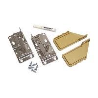 Rev-A-Shelf 6552-97-15-4, Pivot Hinges & Almond End Caps, Bulk-Pk Deep Depth Series Polymer Sink Tip-Out Trays
