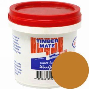 1 Quart Cypress-Teak Water-Based Wood Putty, Ready to Use, Timbermate Products AAC2