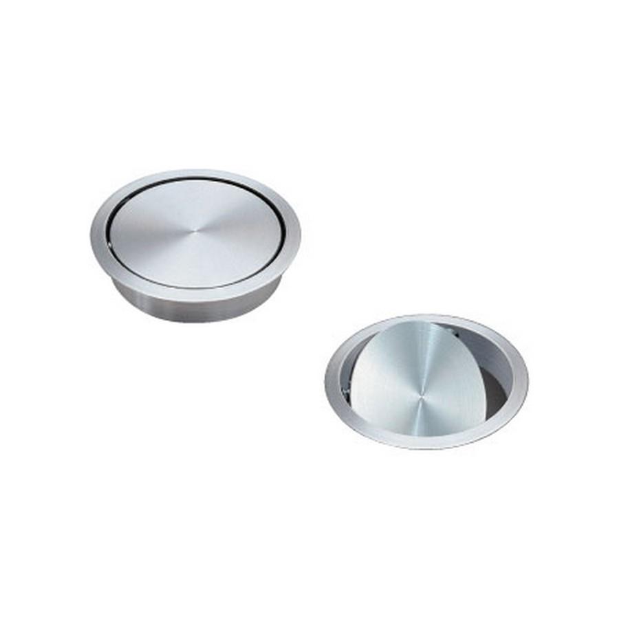 AD-GD Multi-Purpose Lid w/ Damper Satin Stainless Steel Sugatsune AD-GD011-HL