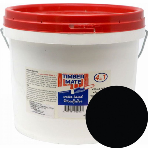 2.5 Gallon Rustic Ebony Water-Based Wood Putty, Ready to Use, Timbermate Products AR20