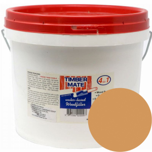2.5 Gallon Alder Water-Based Wood Putty, Ready to Use, Timbermate Products ALD20