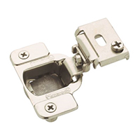 Amerock D2911C1314, 105 Degree Compact Face Frame Hinge, Matrix Series, 1-1/4 Overlay