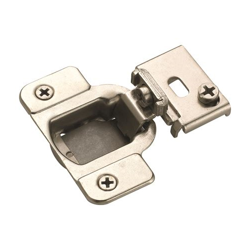 Amerock D2911J2314, 105 Degree Compact Face Frame Hinge, Matrix Series, 1/2 Overlay