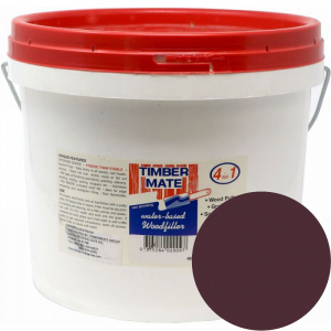 2.5 Gallon Walnut Water-Based Wood Putty, Ready to Use, Timbermate Products AW20