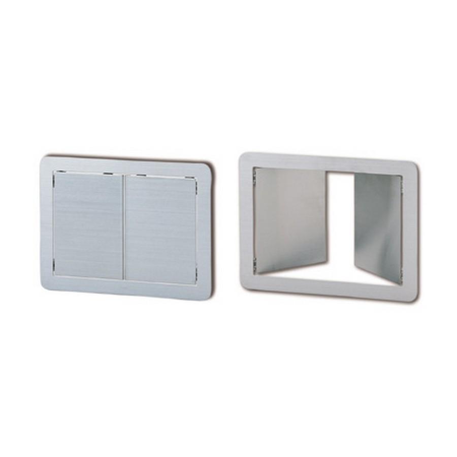 DD310 Double Door Multi-Purpose Lid Satin Stainless Steel  Sugatsune AZ-DD310/HL