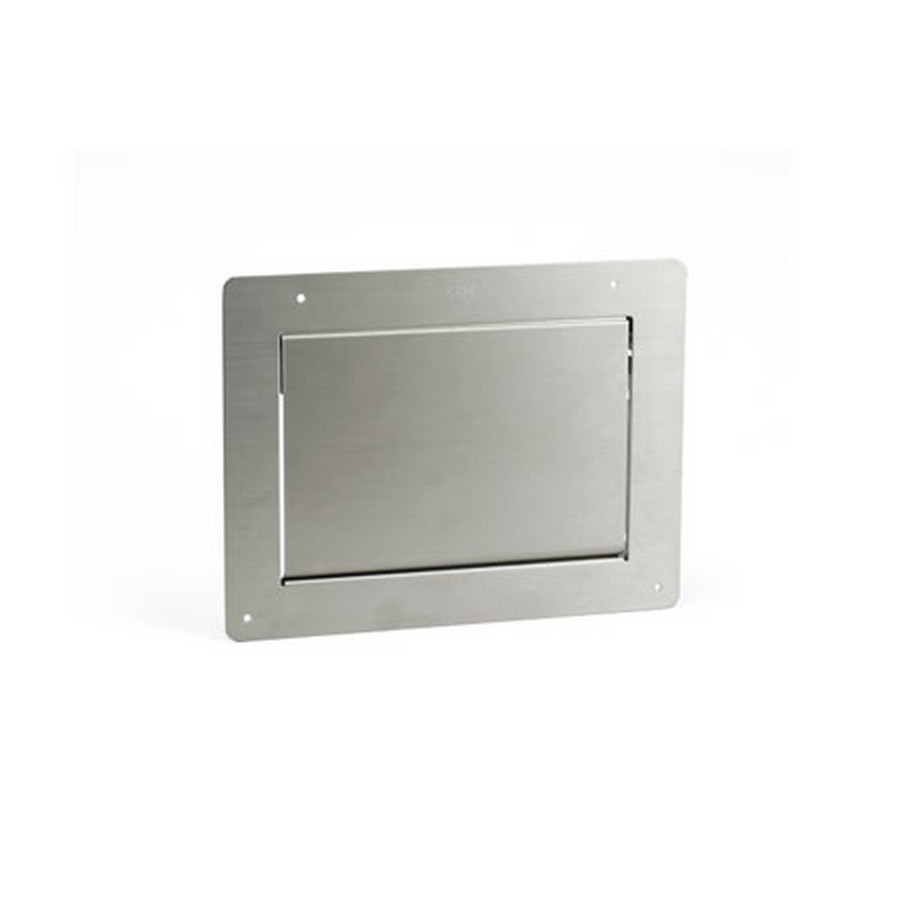"Multi-Purpose Lid w/ Damper 12-1/8"" Wide Satin Stainless Steel Sugatsune AZ-GD231-HL"